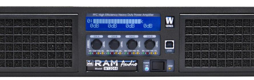 RAM Audio zeigt Verstärker der W-Serie
