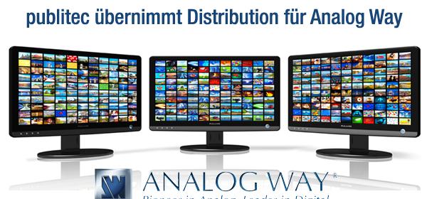 publitec neuer Distributor für Analog Way