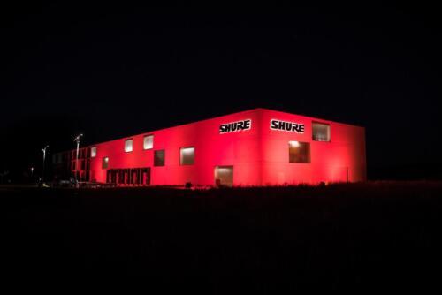 Shure Distribution GmbH Firmengebäude Eppingen Deutschland